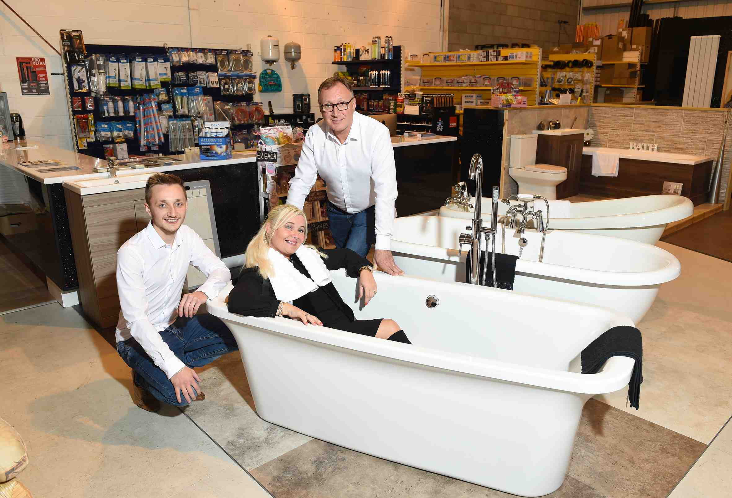 New plumbing and bathroom firm hoping to make a splash