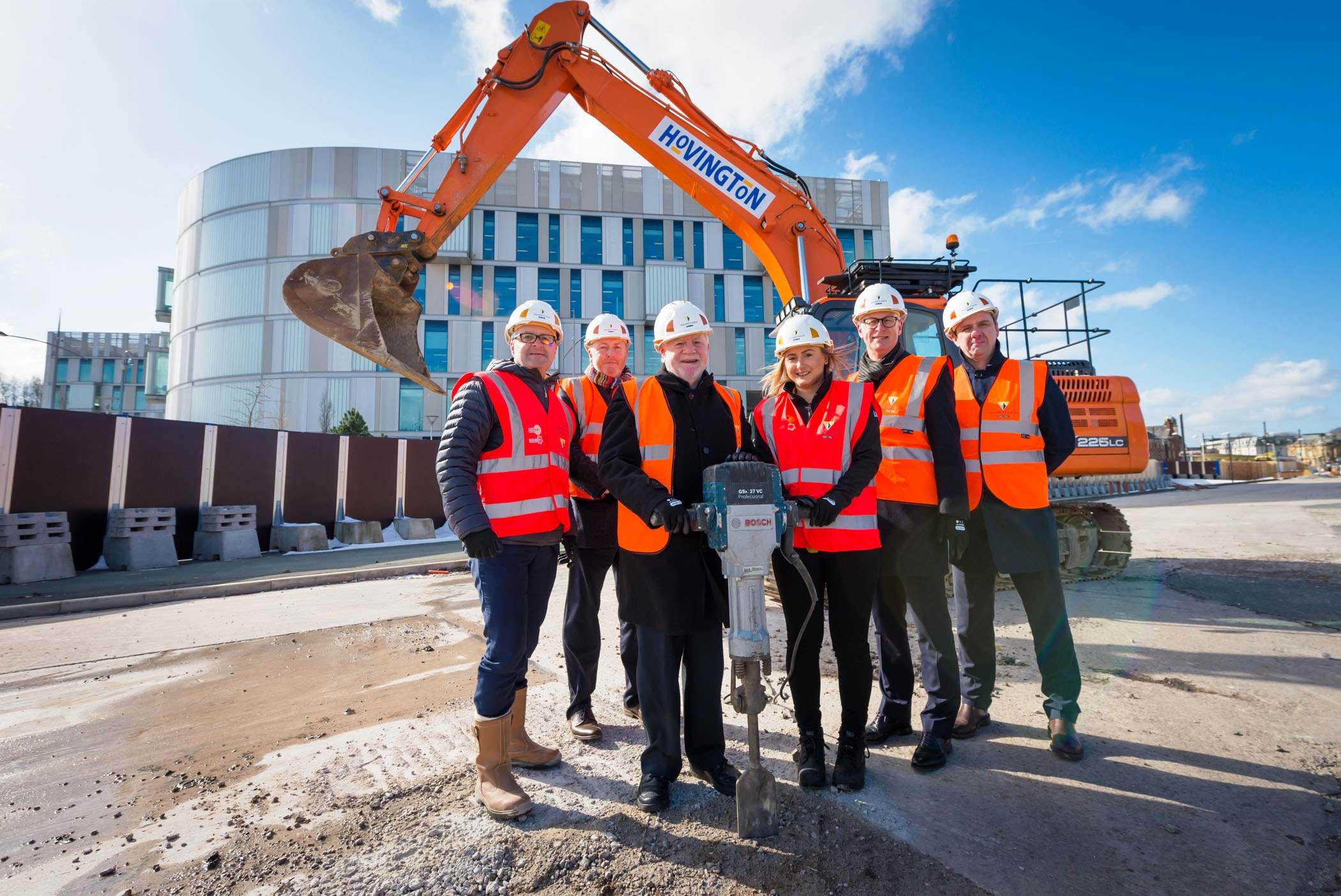 Work starts on new shopping and leisure complex Rochdale Riverside