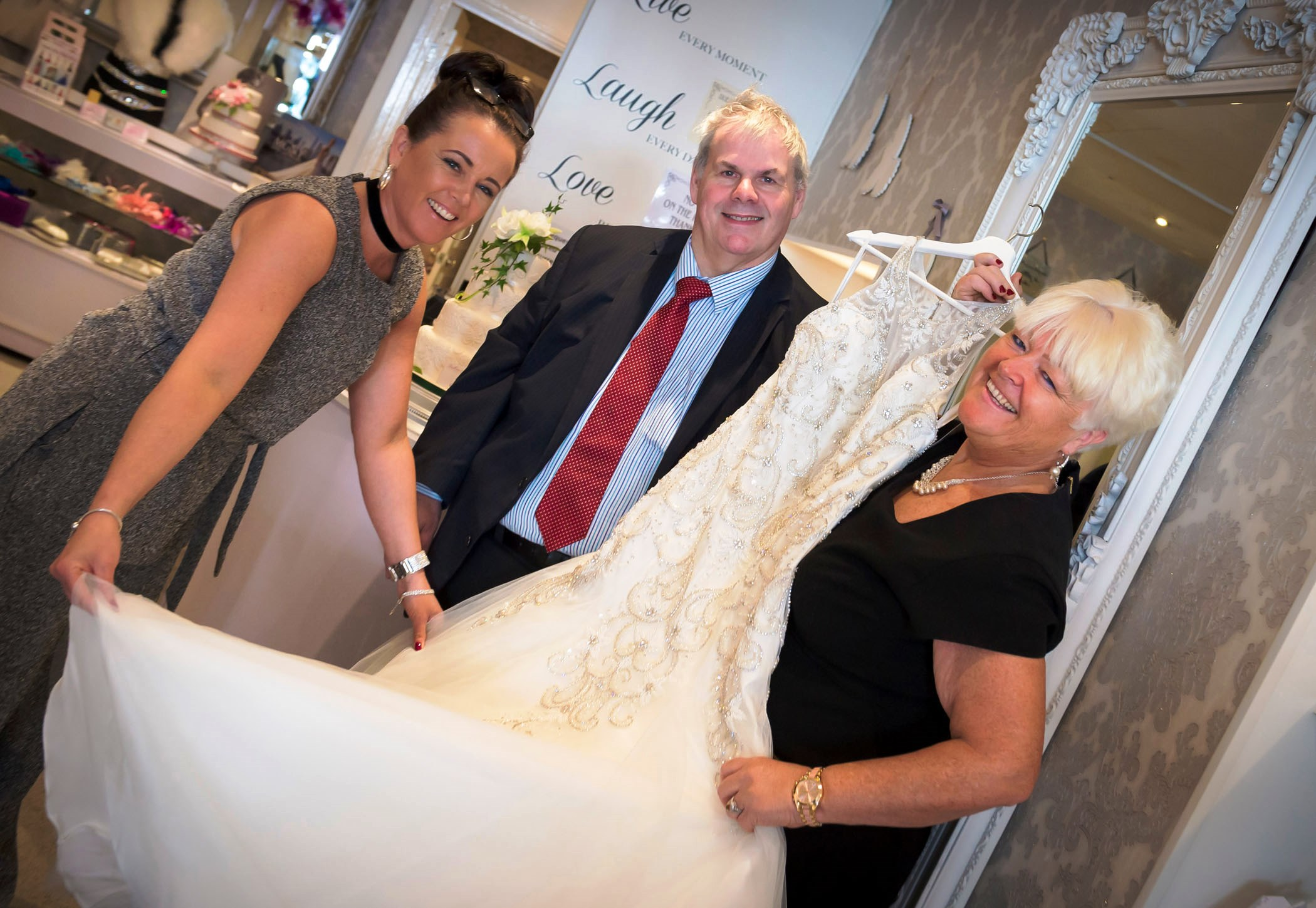 Heywood bridal boutique says 'I do' to council's business rates sale