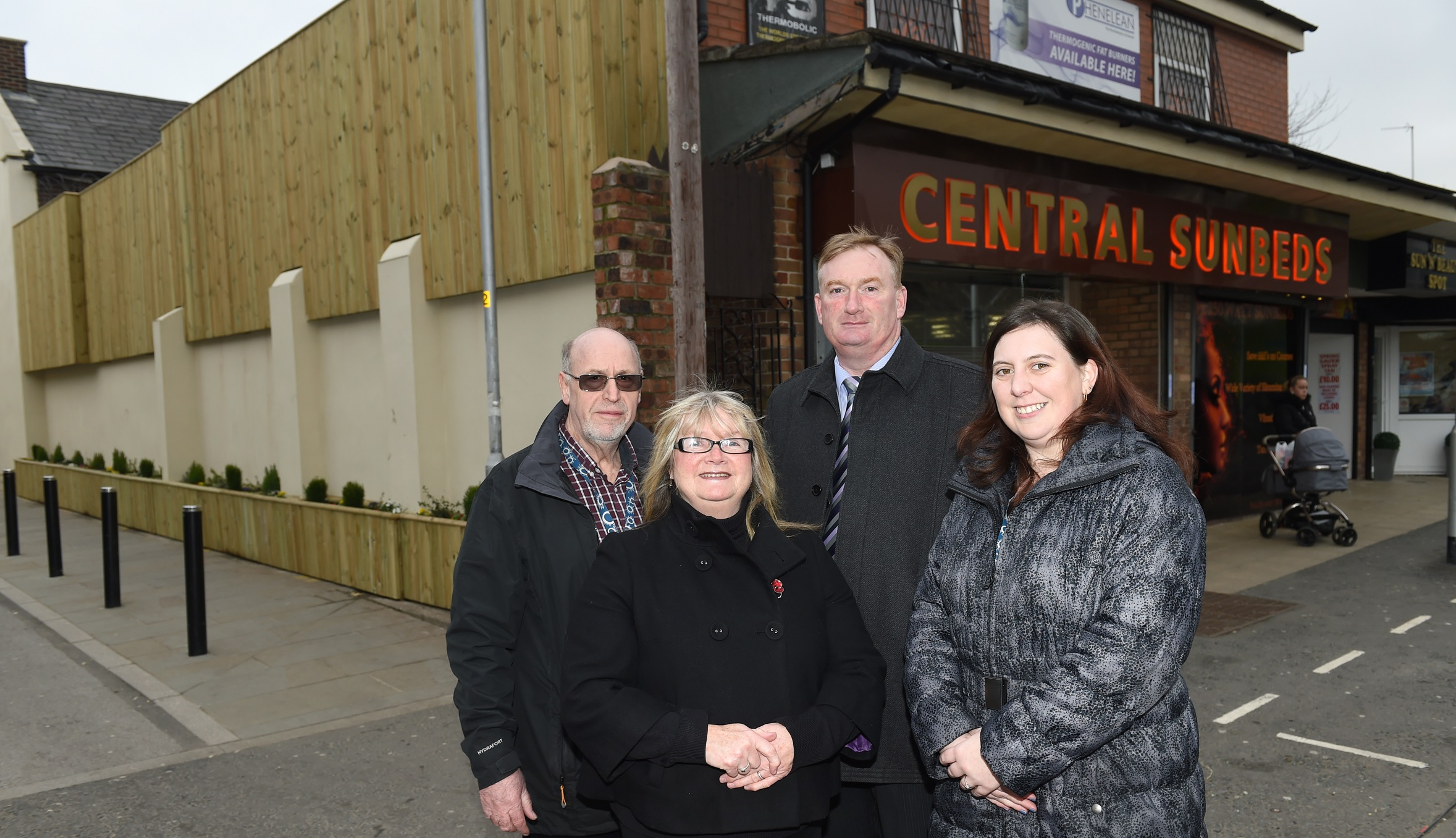 On the front foot! New Middleton scheme boosts shop facades
