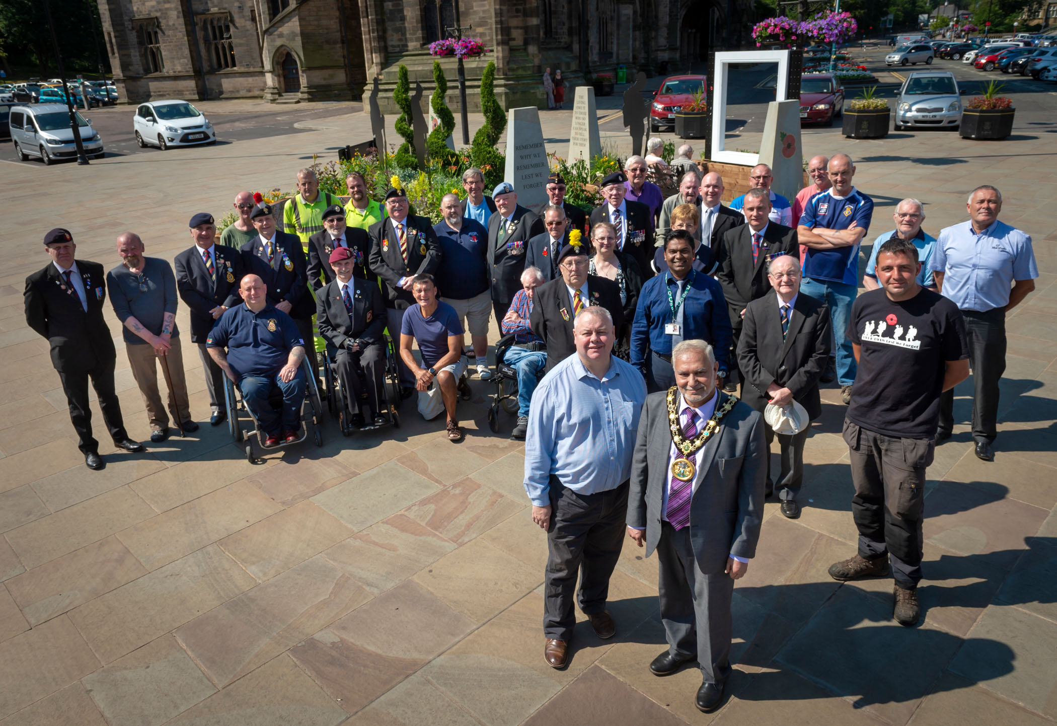 Image: Green fingered success as Rochdale are announced gold Britain in Bloom winners