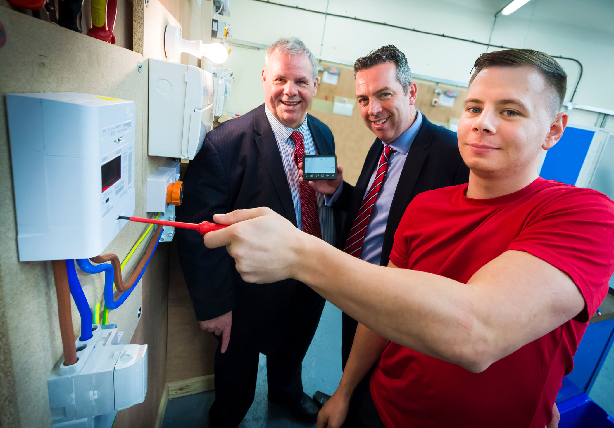 Unemployed back on the job circuit with council-supported smart meter scheme