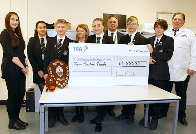 TBA PROTECTIVE TECHNOLOGIES FINDS ROCHDALE'S MANUFACTURING STARS OF THE FUTURE