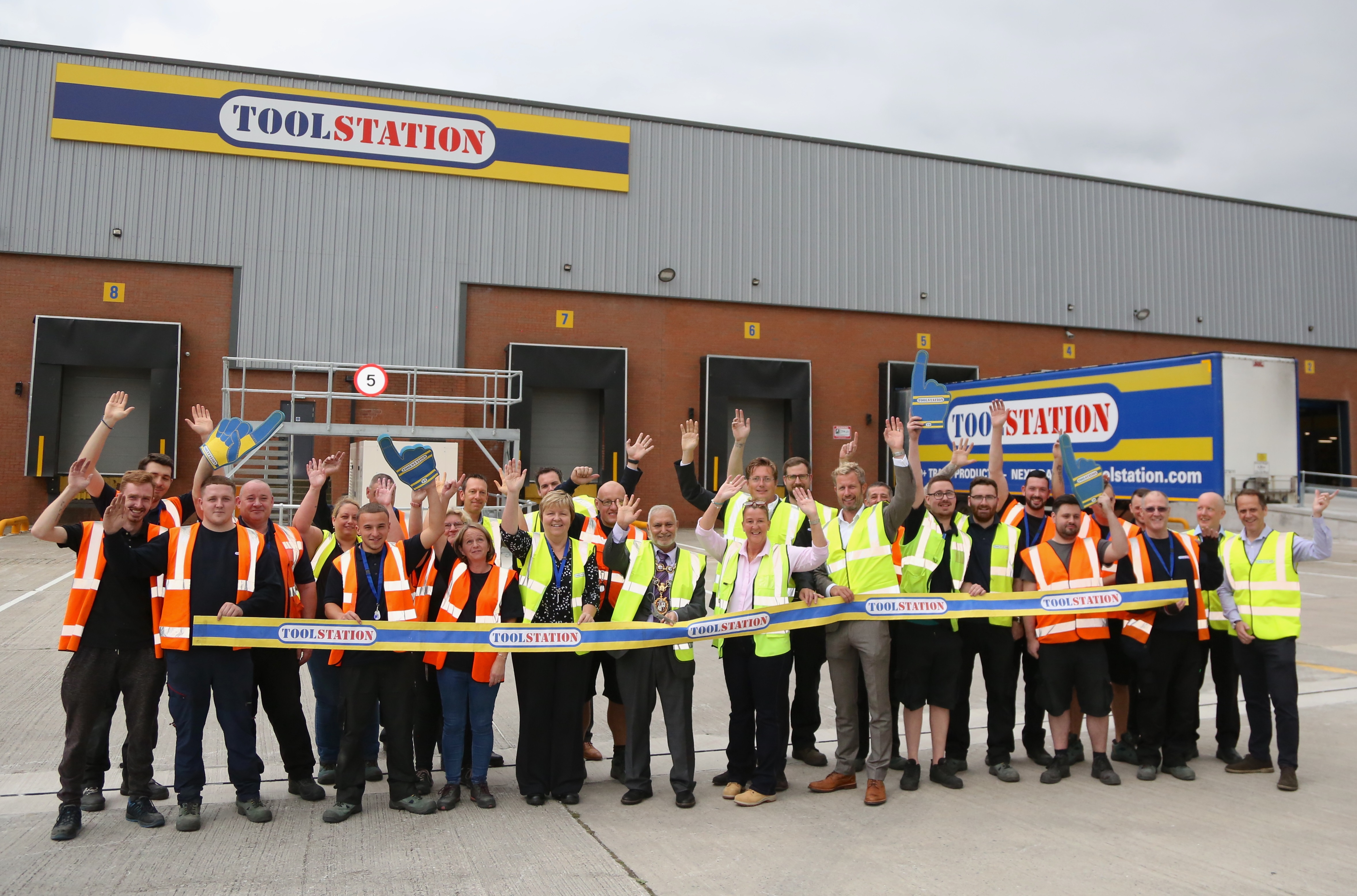 Toolstation Opens its new Distribution Centre in Middleton